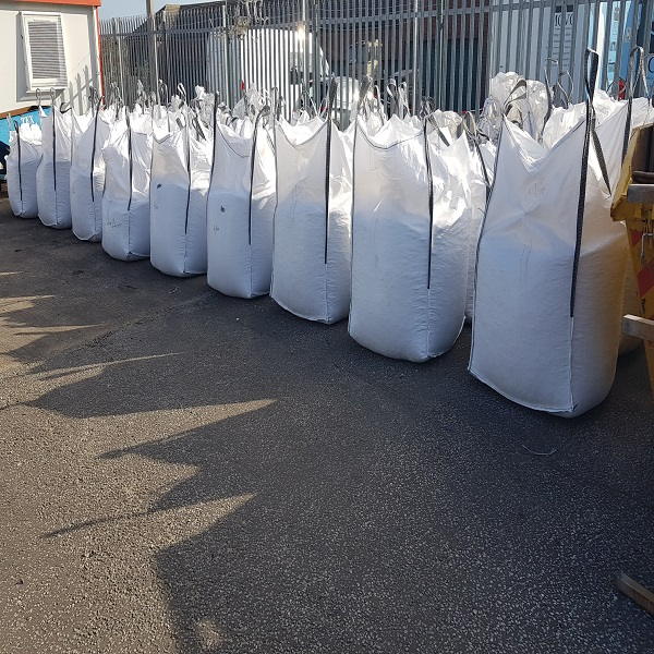 Tonne Bags On Site